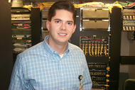Brian Jorgenson, systems administrator, Sacred Heart Hospital